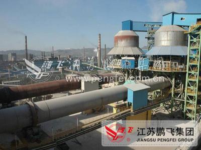 日产1000吨活性石灰生产线设备