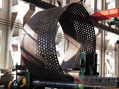 大型卷钢板板机