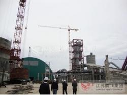 俄罗斯伏尔加2500吨水泥生产线