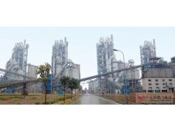 公司生产的5.0x74米回转窑在广东台泥(英德)水泥股份有限公司使用现场