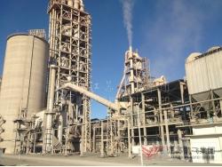 日产2500吨水泥生产线工艺及设备