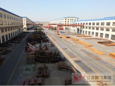 窑磨制造铸钢件存储区